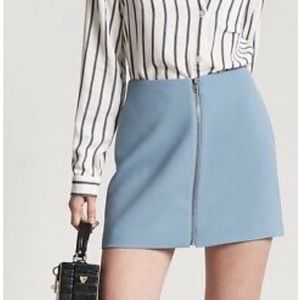 Zip-Front Mini Skirt : Forever 21